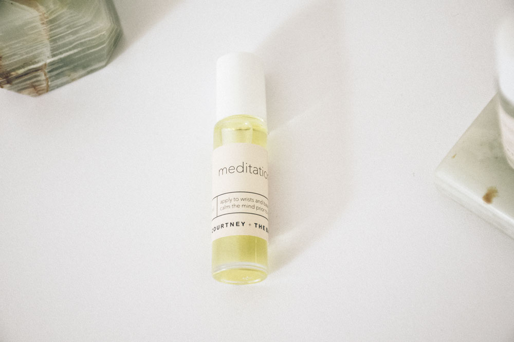 On the Au Courant Daily Journal - A selection of essential oil blends for mindful, urban modernism, by Courtney + the Babes | Words and Images by Lisa-Marie Harris