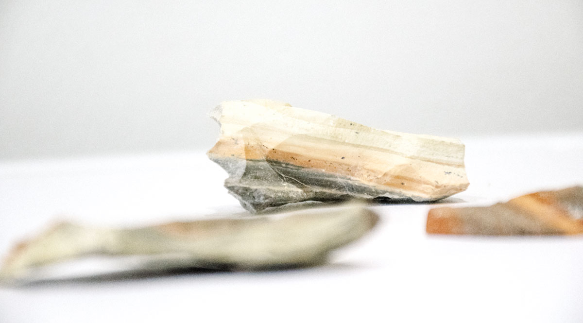 Au Courant Daily Journal | On material research and hunting for Caymanite Stone in the Cayman Islands