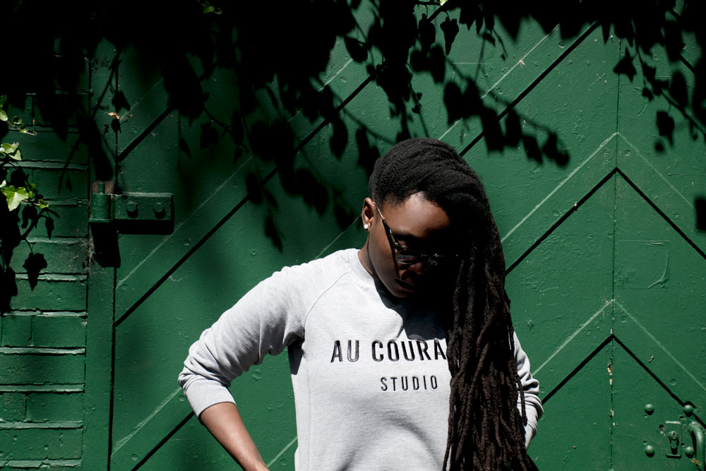 The Studio Sweatshirt by Lisa-Marie Harris for Au Courant Studio