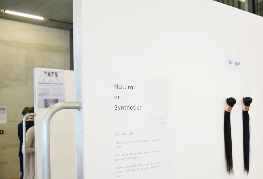 Natural or Synthetic Hair at Tate Modern by Lisa-Marie Harris