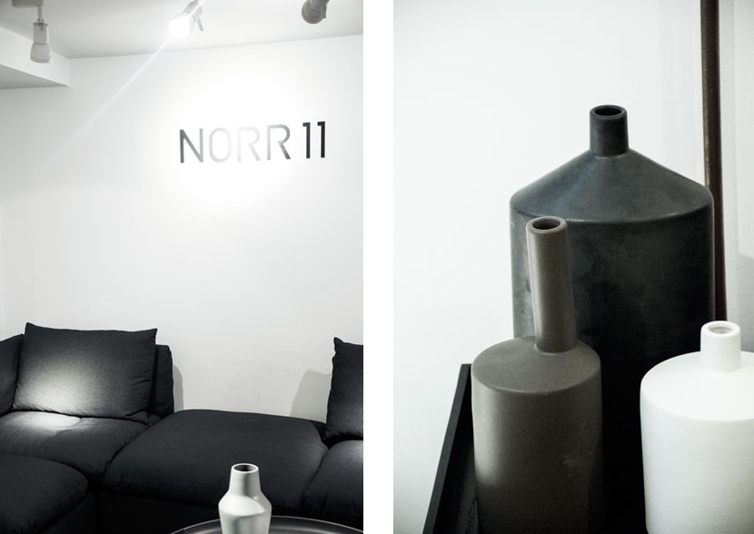 Au Courant Daily inside the NORR11 London Showroom