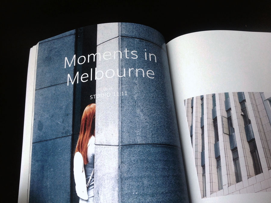 Melbourne by Studio 11:11 and Nick Wilkins Au Courant Vol 02